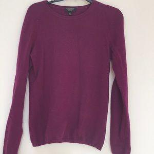 Cashmere Royal Purple Sweater